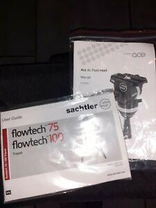SACHTLER Flowtech 75 + Ace XL Fluid Head
