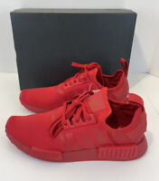 Adidas NMD R1 Triple Red Scarlet Running Shoes Size 9.5