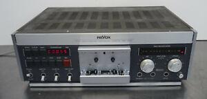 Studer Revox B 710 Tape Deck Cassette Deck vintage high end Kassettendeck DEFEKT