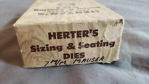 Herters RCBS Compatible 7mm Mauser Reloading Dies 2 Die Set