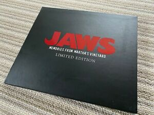 Jaws - Memories From Martha's Vineyard extremely rare OOP 1st edition Spielberg