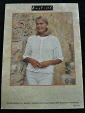 Hayfield White Summer Crochet in 4 Ply Cotton - 16 Designs # 7106