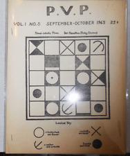 Fred Fry, Elliott Green Ian Hamilton Finlay / P.V.P Magazine Vol 1 No 5 1st 1965