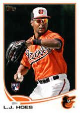 2013 Topps #148 L.J. Hoes Orioles NM-MT