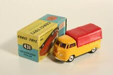 Corgi Toys 431 Volkswagen Pick Up, Mint in Box                          #ab2228