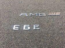105K MERCEDES W211 E63 E550 E350 E55 E320 OEM TRUNK AMG LOGO EMBLEM STICKER