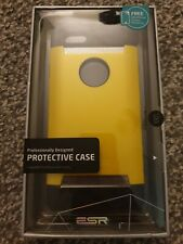 Apple I Phone 6 Glitter Yellow 4.7 Protective Case Free HD Screen Protector