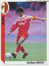 N°011 BIGICA # ITALIA AS.BARI SSC.NAPOLI STICKER TUTTO CALCIO 1995 SL