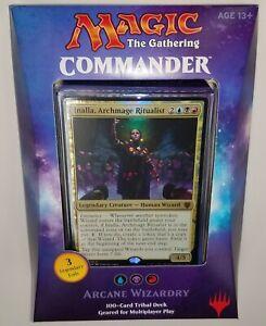 Magic the Gathering Commander 2017 ARCANE WIZARDRY Deck New Sealed English