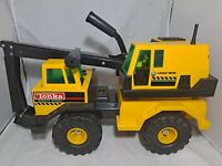 VINTAGE TONKA MIGHTY DIESEL BACKHOE TURBO  #3931 PRESSED STEEL TRUCK TOY RARE