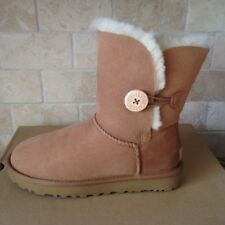 UGG Classic Short Bailey Button II Water-resistant Chestnut Boots Size 10 Womens