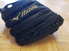 Mizuno Softball/Baseball Glove 13 in. New Without Tags Black Full Grain (Lhand)