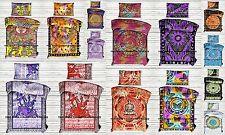 10 PC Wholesale Lot Indian Mandala Duvet Doona Cover Reversible Indian Comforter