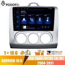 "Für Ford Focus Exi MT 2004-2011 Android10.0 9"" Autoradio GPS NAVI Bluetooth"