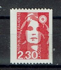 FRANCE TIMBRE ROULETTE 2628a N° rouge au verso BICENTENAIRE rouge - LUXE **