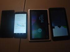 Smart Phones verizon LG k20 locked, zte, 2 tablet, Cell Phone Lot Parts  Repair