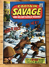 Capt. Savage and His Battlefield Raiders #16 (1969) See Pictures