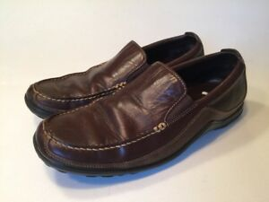 Cole Haan Tucker Venetian Loafers Size 10M Brown Slip On Driving Shoes EUC