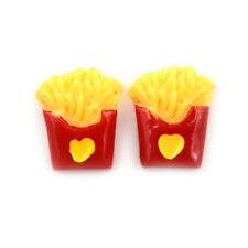 Miniature Dollhouse Small Love French Fries Kitchen Room Food Decor Mini Worl xc