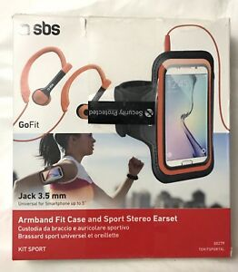 SbS GoFit Armband Fit Case & Sports Stereo Earset