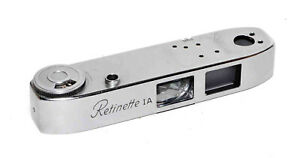 KODAK RETINETTE 1A TOP PLATE WITH OPTICAL ASSEMBLY