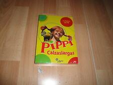 PIPPI CALZASLARGAS SERIE COMPLETA DE TV EN DVD CON 3 DISCOS NUEVA PRECINTADA