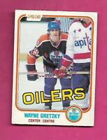 1981-82 OPC # 106 OILERS WAYNE GRETZKY GOOD CARD (INV# D3581)
