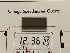 Used LCD for 1977 Omega Speedmaster Quartz LCD 1620  uhr MOT