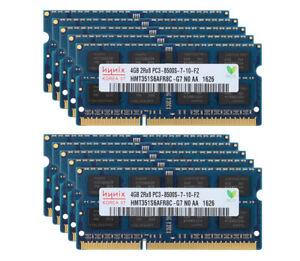 10pcs Hynix 4GB 2RX8 DDR3 1066MHz PC3-8500S 204PIN SO-DIMM Laptop Memory RAM #DD