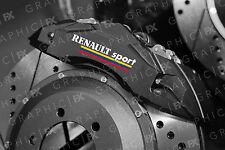 X6 RENAULT SPORT Logo Premium pinza del freno in Vinile Decalcomanie-Adesivi CLIO MEGANE