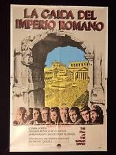 THE FALL OF THE ROMAN EMPIRE * SOPHIA LOREN *  ARGENTINE 1sh MOVIE POSTER 1964