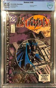 Batman 440 Comic Book CBCS 8.5 not CGC Direct Edition Teen Titans Two Face