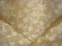 1Y Scalamandre HB 00021525 Serene Silk Champagne Damask Upholstery Fabric