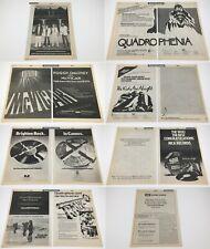 The Who_Original 1979 Trade 14 page Ad spread / posters_Quadrophenia_McVi car