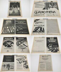 THE WHO__Original 1979 Trade 14 page AD spread / posters__QUADROPHENIA__McVICAR