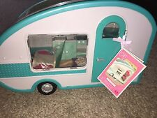 "LORI Our Generation Mini Doll CAMPER w/ ACCESSORIES & Doll fits 6"" American Girl"