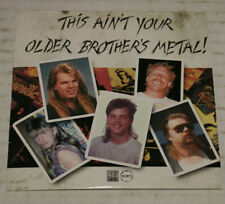 This Ain't Your Older Brother's Metal CD Promo ShadowsFall Immolation Grave Etc
