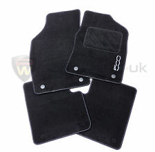 Fiat 500 2012 > tailored economy carpet floor mat set / mats 59137558 Genuine