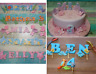Edible Letters Age Handmade Birthday Christening Baby Shower Cake Toppers