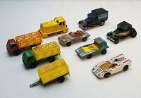 VINTAGE 70S MATCHBOX SUPERFAST CAR LOT (9)