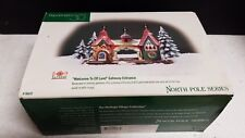 "Dept 56 North Pole Elfland ""Welcome to ElfLand"" Gateway Entrance #56431 - New"