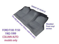 To suit Ford F100 F150 F250 F350 1982-1999 Moulded Rubber Vinyl Front Floor
