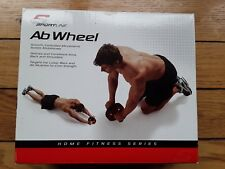 Sportline Ab Wheel exercise abdominals muscles arms back shoulders core strength