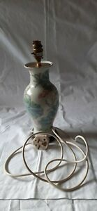 SUPER MID CENTURY MODERN CHINEESS INFLUENCED POTTERY TABLE LAMP