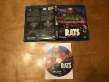 Hell of the Living Dead & Rats Blu ray*Blue Underground*Classic 80's Horror*