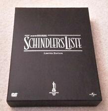 Schindlers Liste lim. collector´s Edition 2 DVD Box Steven Spielberg