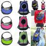 Pet Cat Dog Puppy Carrier Mesh Comfort Travel Tote Shoulder Bag Sling Backpack