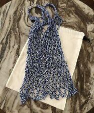 Authentic Brand New Celine Cotton Net Bag Blue White Phoebe Philo Classic Tote