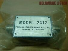 Vintage NOS POMONA ELECTRONICS Co. #2412 Inline Circuit Box Orig. Package