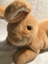 "Vintage Eden Plush Tan Bunny Rabbit Life Like ~15"" Long~Rare"